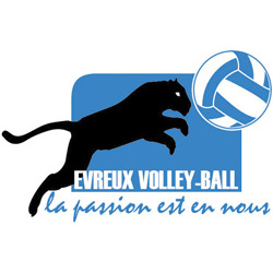 logo Evreux volley ball